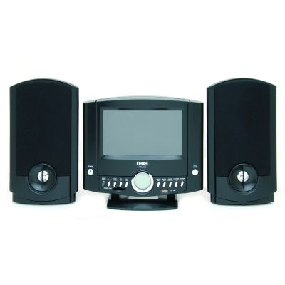 "420-120 - Naxa NDL-431 7"" Motorized DVD Micro System"