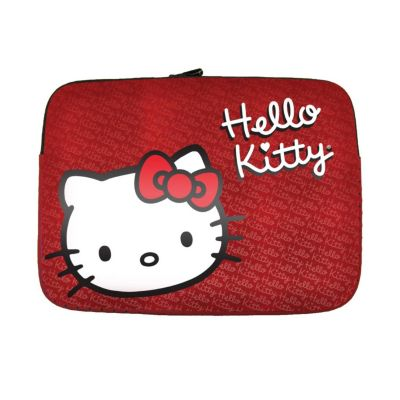 "420-178 - Hello Kitty® KT4315RW 15.4"" Red Notebook Sleeve"