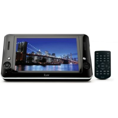 "420-450 - iLuv I1166 8.9"" Portable Multimedia Player for iPod and DVDs"
