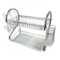 Better Chef DR-16 6-Inch Chrome Dish Rack