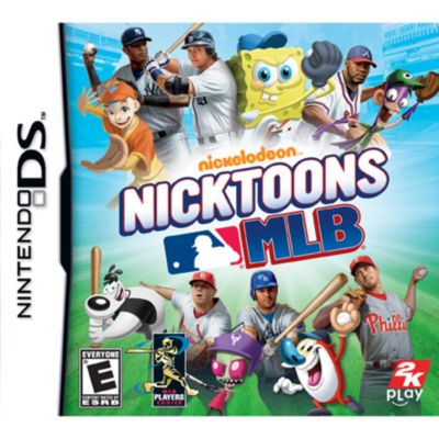 421-400 - Nicktoons MLB Nintendo Wii Game