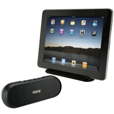 421-736 - iHome Rechargeable Portable Bluetooth Speaker System for iPad, iPhone & iPod