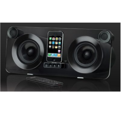 421-771 - iHome iPod & iPhone Smoked Acrylic Speaker System