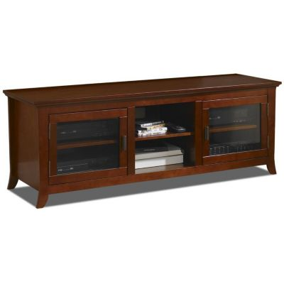 421-787 - TechCraft Flat Panel Walnut Finish A/V Cabinet Credenza