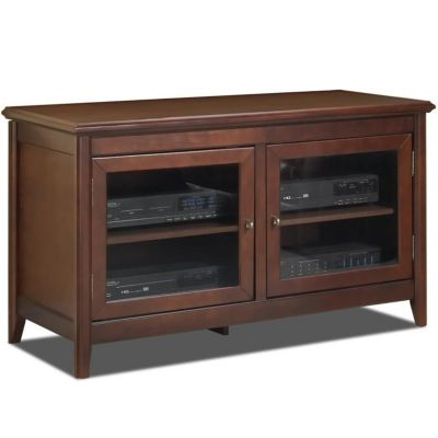 421-788 - TechCraft Flat Panel Walnut Finish A/V Cabinet Credenza