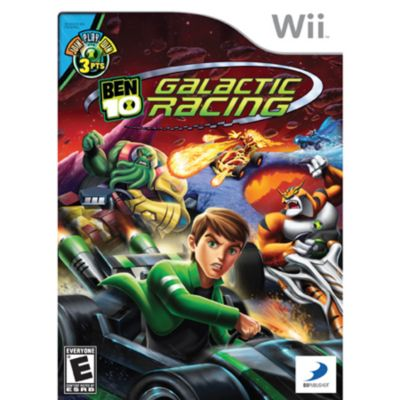 422-429 - Ben 10 Galactic Racing Nintendo Wii Game