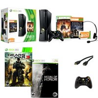 Xbox 360 250 Gb Holiday of Battle Bundle 2011