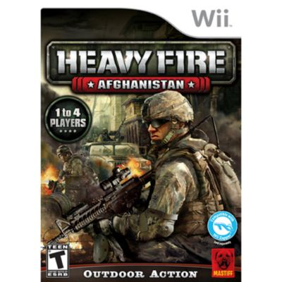 422-860 - Heavy Fire: Afghanistan Nintendo Wii Game