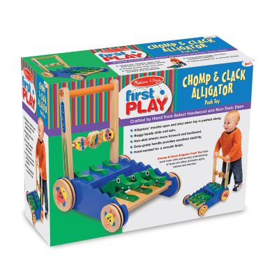 423-215 - Melissa & Doug® Chomp & Clack Alligator Push Toy