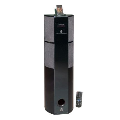 423-376 - Pyle PHST92IBGL Channel Home Theater Tower w/ iPod & iPhone Docking Station