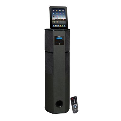 423-481 - Pyle PHST96IPBK Channel Home Theater Tower w/ Docking Station for iPod/iPhone/iPad