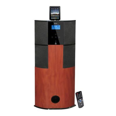 423-483 - Pyle PHST94IPCW Channel Home Theater Tower w/ Docking Station for iPod/iPhone/iPad