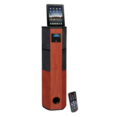 423-484 - Pyle Channel Home Theater Tower w/ Docking Station for iPod/iPhone/iPad