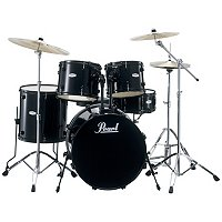 Pearl Forum 5 Piece Drum Set with Hardware and Cymbals