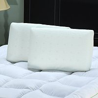 SENSORPEDIC COMFORT VENTILATED PILLOW PAIR - STANDARD