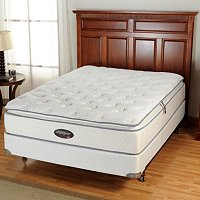 "SIMMONS BEAUTYREST ""HALLSPORT"" PLUSH PT - QUEEN MATTRESS SET"