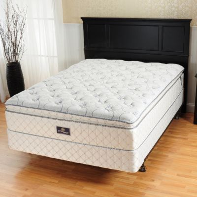Sealy Posturepedic Beale Street Cushion Firm Faux Eurotop Mattress (Full XL Mattress Only) For Sale