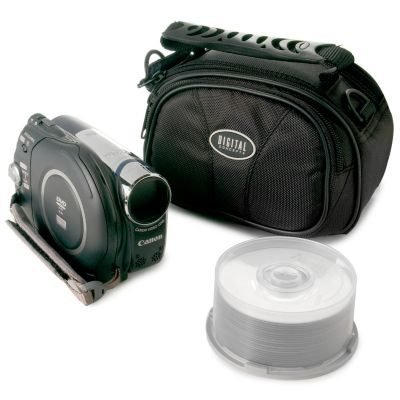 Buy dvd camcoders - Canon DC310 DVD Camcorder Package