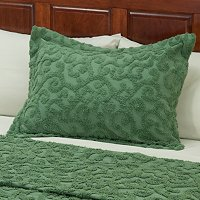 "North Shore Linens ""Scroll"" Chenille Sham"