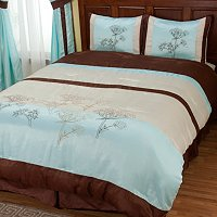 """Brookfield"" 4pc Comforter Set"