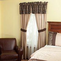 """Leopard"" 5pc Window Set"
