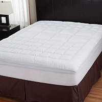 North Shore Linens Zoned Mattress Topper with Nanotex