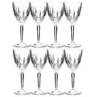 MARQUIS BY WATERFORD SPARKLE GLASSES- SET OF EIGHT