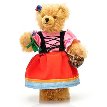 429-174 - Hermann™ 11'' Grimm's Fairy Tale Gretel Teddy Bear