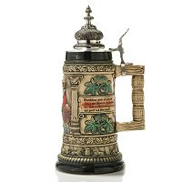 THEWALT 1893 - GAMBRINUS KING OF BEERS STEIN