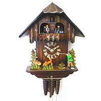 1-DAY BLACK FOREST CHALET WITH MOVING HUNTER CUCKOO CLOCK
