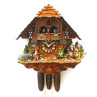 8-DAY FAIRY TALE LIMITED EDITION CUCKOO CLOCK