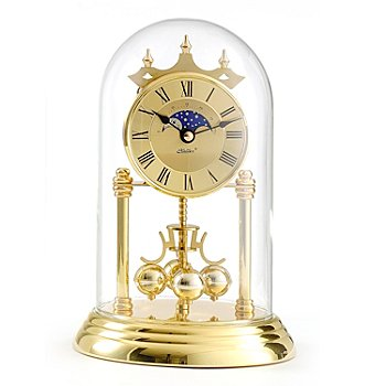 429-215 - Haller™ Quartz Moon Phase Anniversary Table Clock
