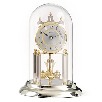429-223 - Haller™ Quartz Diamond-Cut Dial Anniversary Table Clock