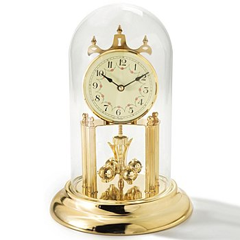 429-225 - Haller™ Quartz Garland Dial Anniversary Table Clock