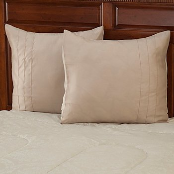 429-409 - North Shore Linens™ ''Lakewood'' Jacquard Euro Sham Pair
