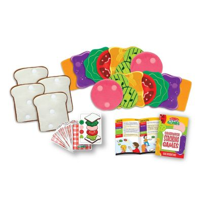 429-458 - Melissa & Doug® Sandwich Stacking Games