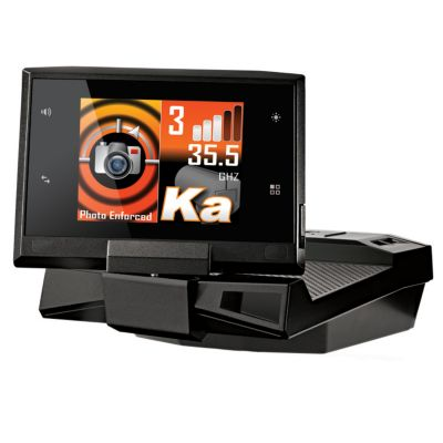 "429-497 - Cobra® Vedetta™ 2.4"" Supercharged Radar+Laser+Camera Detector w/ AURA™ Database"