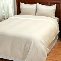 "Cozelle ""Sorrento"" Lace 3pc Duvet Set"