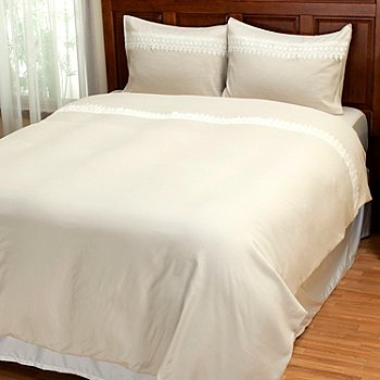 429-538 - Cozelle® ''Sorrento'' Microfiber Three-Piece Duvet Set