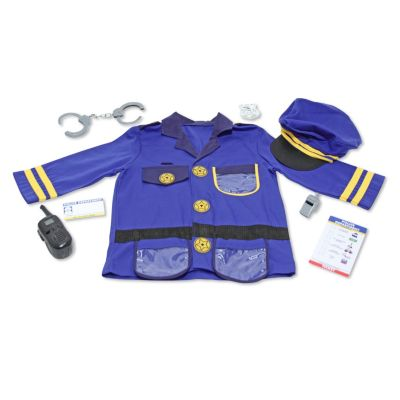 429-550 - Melissa & Doug® Role Play Police Officer Costume