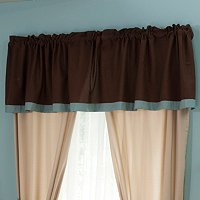 """Silhouette"" Window Valance"