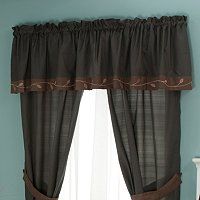 """Velvet Leaf"" Window Valance"
