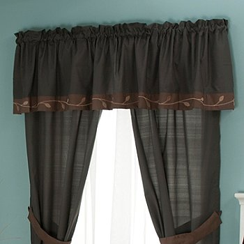 429-579 - North Shore Linens™ ''Velvet Leaf'' Window Valance