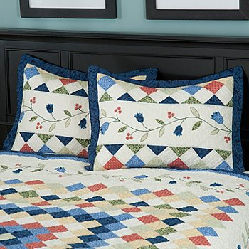 429-597 - North Shore™ Collectible Quilts ''High Falls'' Sham Pair