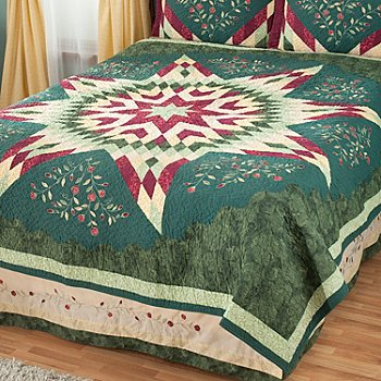 429-600 - North Shore™ Collectible Quilts ''Neptune Star'' Limited Edition 100% Cotton Quilt
