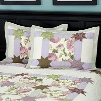 """Twilight Garden"" Sham Pair"