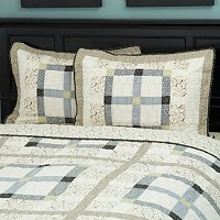 """Townhouse"" Sham Pair"