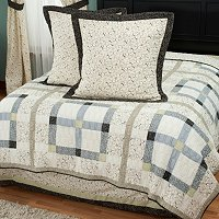 """Townhouse"" Euro Sham Pair and Bedskirt Set"