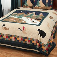"""Bear Mountain"" Quilt"
