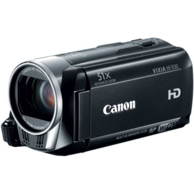 429-663 - Canon 5976B002 VIXIA HF R30 HD 8GB Flash Memory Camcorder